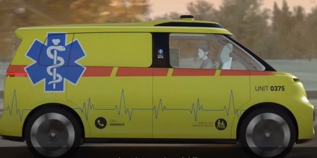 VW is developing an ambulance with autopilot