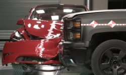 A crash test that no one has done before