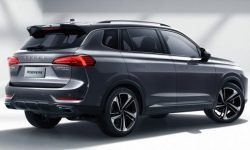 Introduced a new crossover Roewe RX5 Max