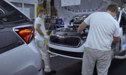 Skoda stopped the work of two Czech plants